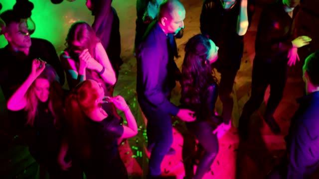 Dancing-in-a-Nightclub-High-Angle-Shot