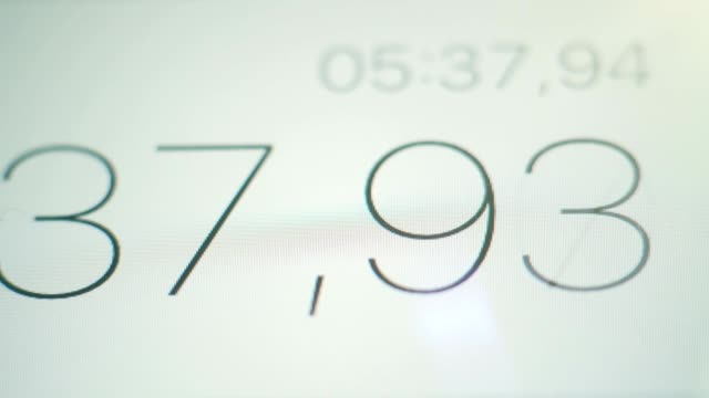 Stopwatch-Digits-on-the-Screen