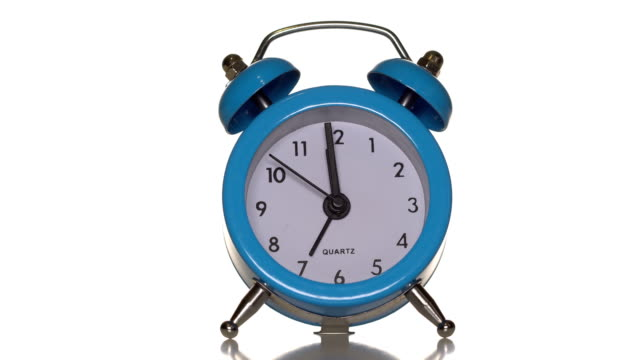 Alarm-clock-on-white-background