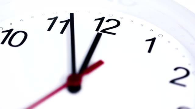 Saubere-weiße-Uhr-Zeitraffer-4K