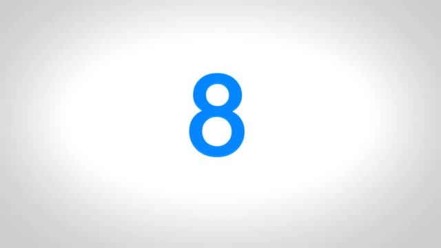 4K-Countdown-Blue-Number-from-10-to-0-seconds-in-white-screen-background