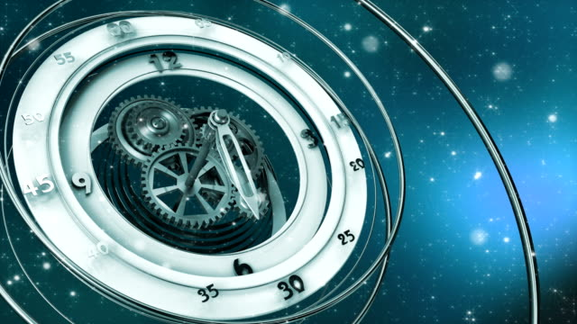 clock-and-sparkling-particles