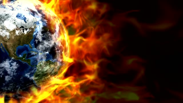Fiery-Earth-Animation-Rendering-Background-with-Flames-Loop