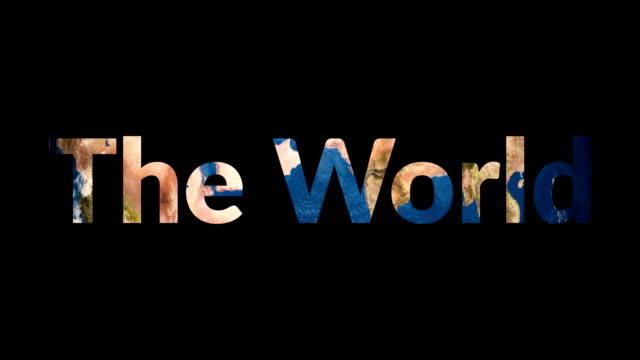 Inflexión-reveladora-de-texto-el-mundo-terráqueo
