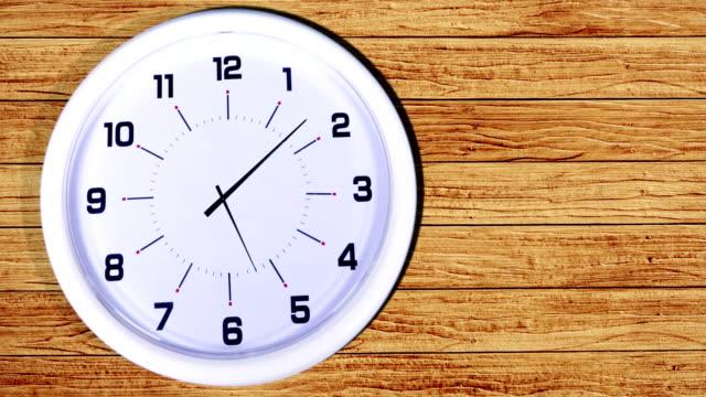 Lapso-de-tiempo-de-reloj-de-pared