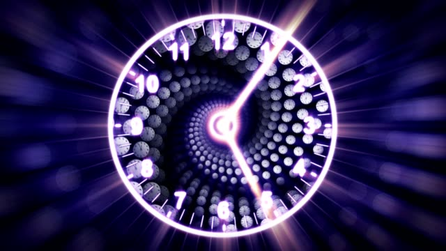 Clocks-Spiral-Tunnel-Animation-Time-Concept-Rendering-Background-with-Alpha-Channel-Loop