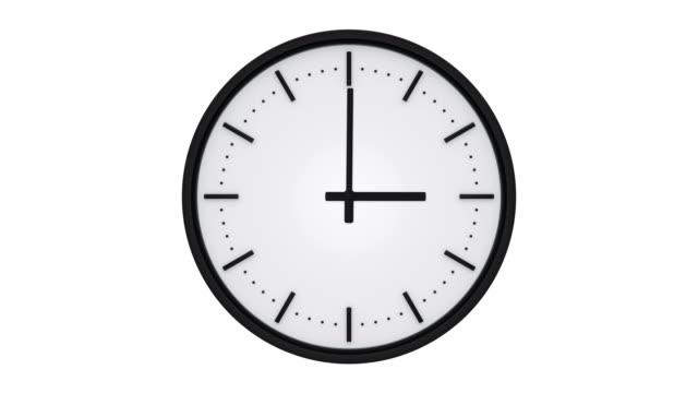 Reloj-con-la-punta-negra-mostrando-el-tiempo-transcurrido-