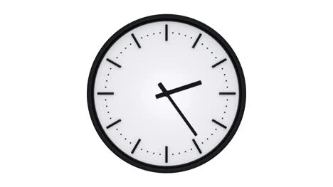 Clock-with-black-tips-showing-the-elapsed-time-
