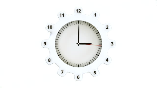 Round-clock-and-gears-