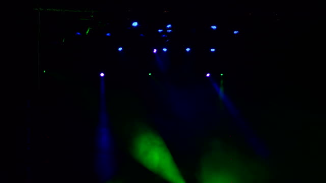 Lighting-equipment-in-action-on-stage-