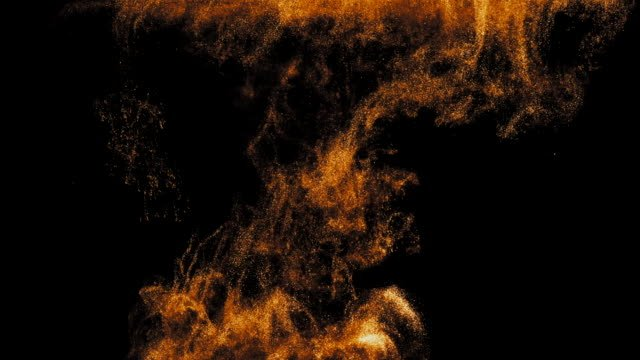 Golden-ink-in-water-shooting-with-high-speed-camera-Copper-paint-dropped-reacting-creating-abstract-cloud-formations-and-metamorphosis-on-black-Art-backgrounds-Slow-motion-4k
