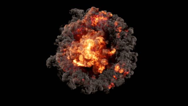 Una-composición-esférica-consisten-en-explosiones-y-descargas-eléctricas