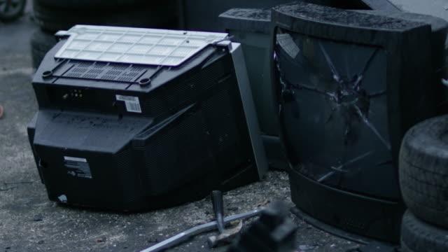 Hammer-Smashing-Television-Tube-Screen
