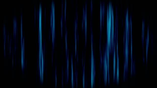 Spooky-Halloween-ghost-haunted-dark-background-curtain-loop-blue