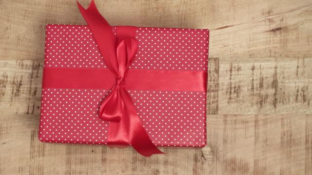 Close-up-of-handmade-christmas-gifts