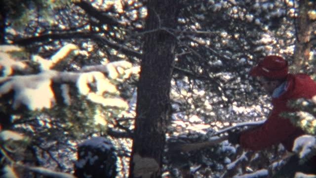 (8-mm)-1965-Vintage-árbol-de-navidad-Chop-su-propio-montaje
