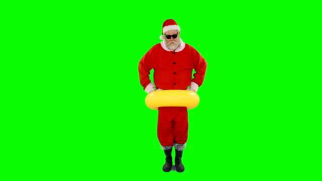Santa-claus-stuck-in-inflatable-tube