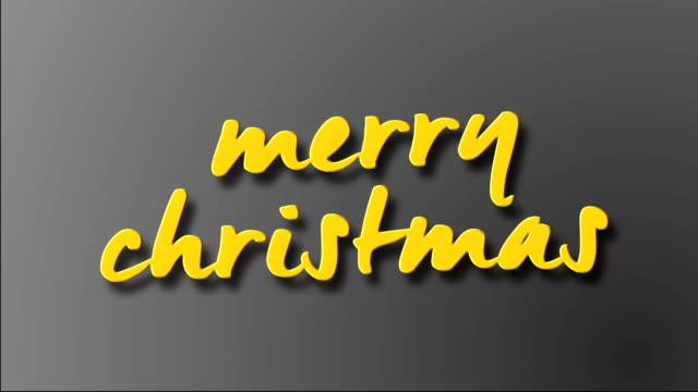 4k-Merry-Christmas-Handwriting-Animation---Stock-video