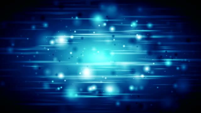 Azul-oscuro-defocused-brillantes-luces-video-de-animación
