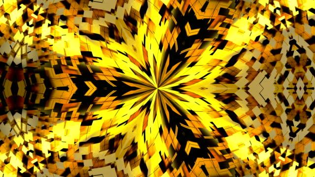 Fondo-abstracto-con-oro-caleidoscopio