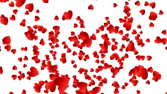 Explosión-de-confeti-de-corazones-rojos