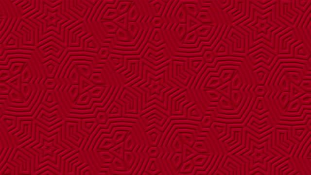 Rojo-puro-mate-geométrica-superficial-fondo-oscuro-Con-estilo-moderno-mínimo-