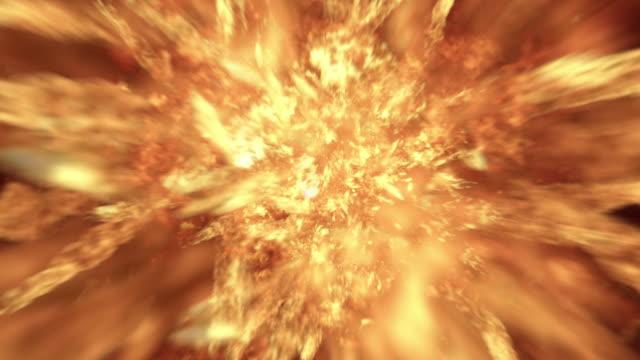Explosión-de-bolas-de-fuego-realista-4K