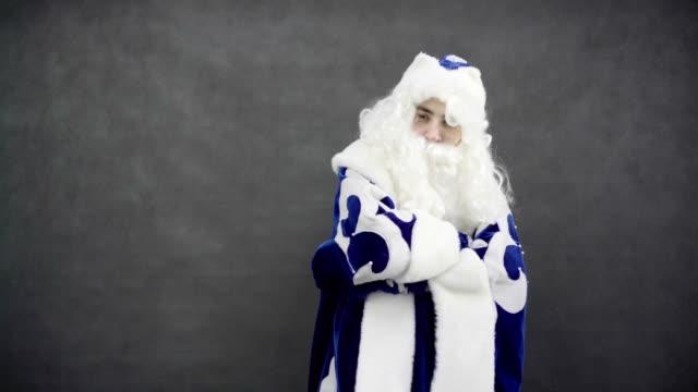 Hip-Hop-Santa-in-blue-costume
