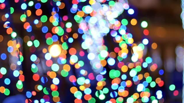 Colorful-garland-blurs-to-bokeh