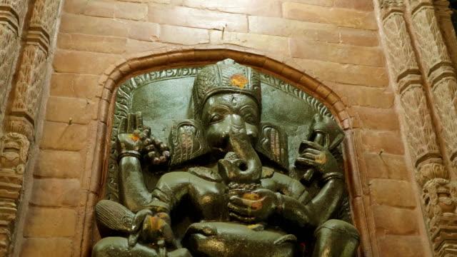 Nepalese-stone-statue-of-Ganesha-Hindu-God-at-the-palace-Kathmandu-Nepal-