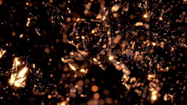 Abstract-cube-explosion-in-slow-motion