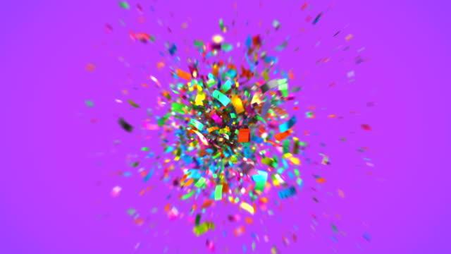 Shot-of-colourful-confetti-in-4K