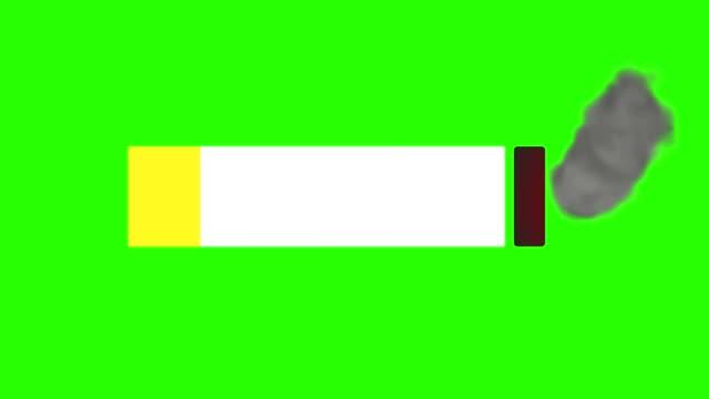 clave-de-croma-de-pantalla-verde-humo-de-cigarrillo