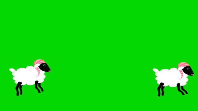 Contar-ovejas-saltando-con-pantalla-verde-chromakey