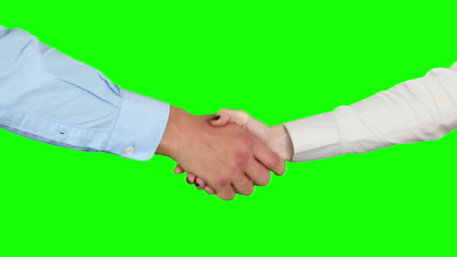Business-people-handshaking