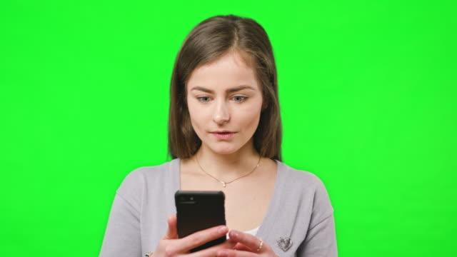 Good-News-on-Her-Phone
