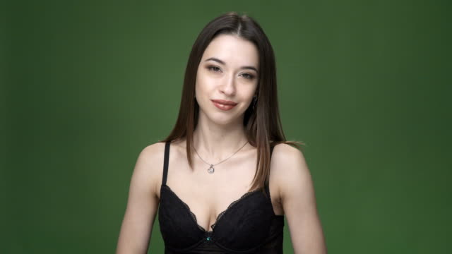 Sexy-brunette-woman