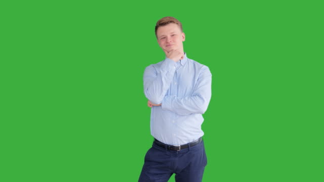 Young-Caucasian-Man-Standing-against-Green-Screen-Background-Male-Person-Isolated-on-Chroma-Key-Casual-Business-Professional-Portrait