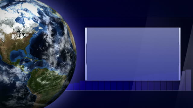 Earth-and-Business-Technology-Bars-Background-Loop