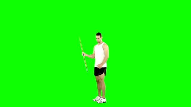 Hombre-deportista-practicar-lanzamiento-de-jabalina