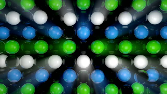 Abstract-background-with-realistic-3d-spheres-Colorful-backdrop