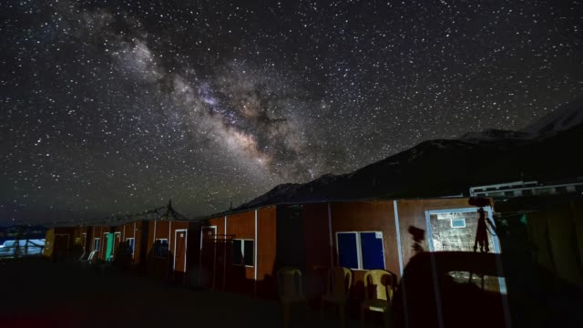 4k-timelapse-The-Milky-Way-galaxy-moving-over-mountains-at-Pangong-Lake-in-Ladakh-North-India-