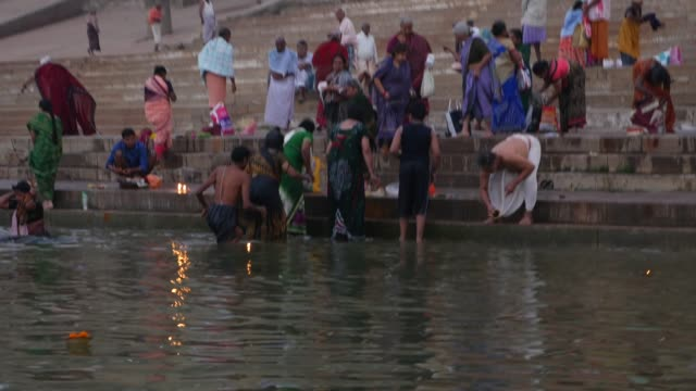 Varanasi-Stadt-Indien