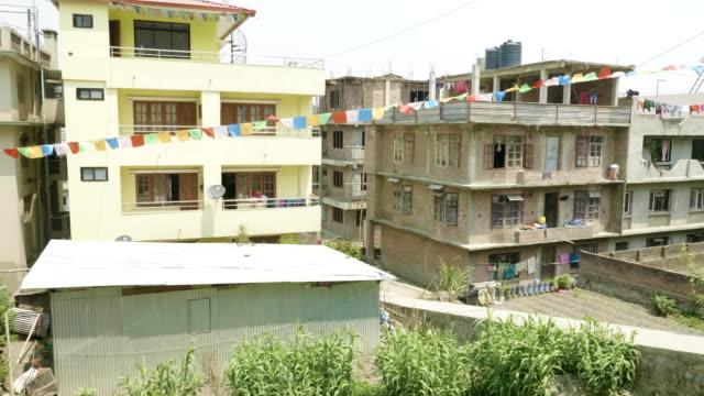 Buildings-in-asian-city-Kathmandu-Nepal-