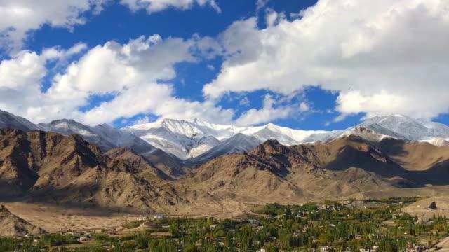 Aerial-Leh-Ladakh-Town-India
