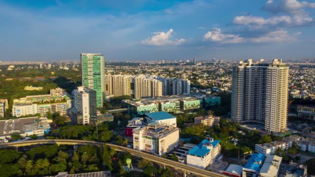 sunny-evening-bangalore-cityscape-aerial-panorama-timelapse-4k-india