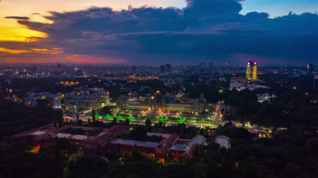 sunset-bangalore-government-court-city-aerial-panorama-timelapse-4k-india