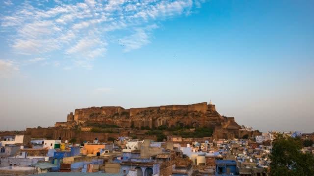 Jodhpur-cityscape-at-sunset-Rajasthan-India