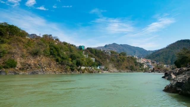 Time-lapse-at-Rishikesh-India