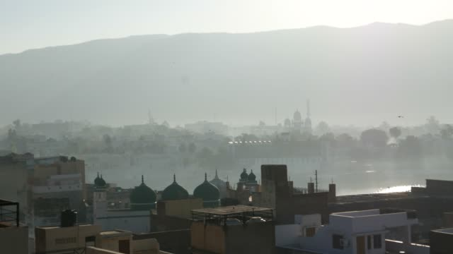 Morning-fog-at-Pushkar-Rajasthan-India